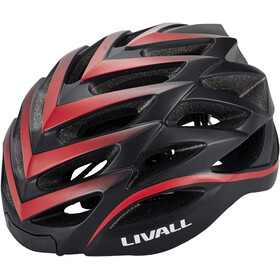 LIVALL BH62 Fietshelm incl. BR80, black/red